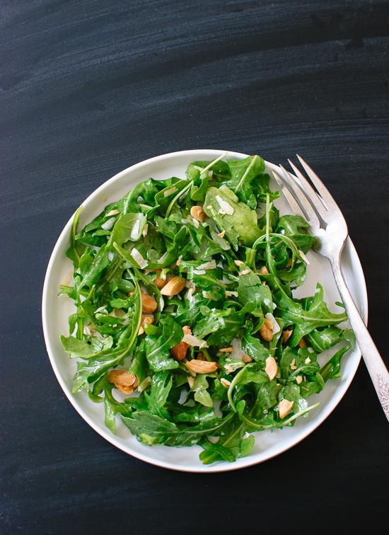Arugula, Parmesan and Almond Salad