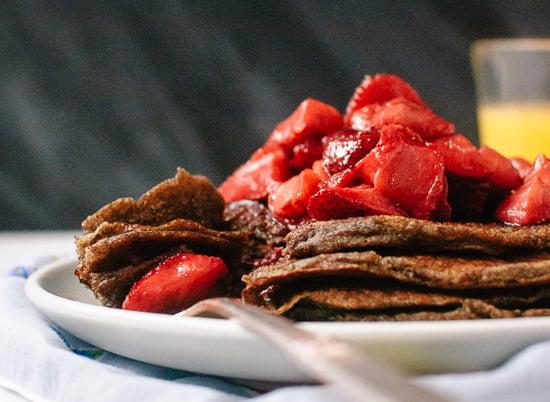 Gluten-free buckwheat pancakes - cookieandkate.com