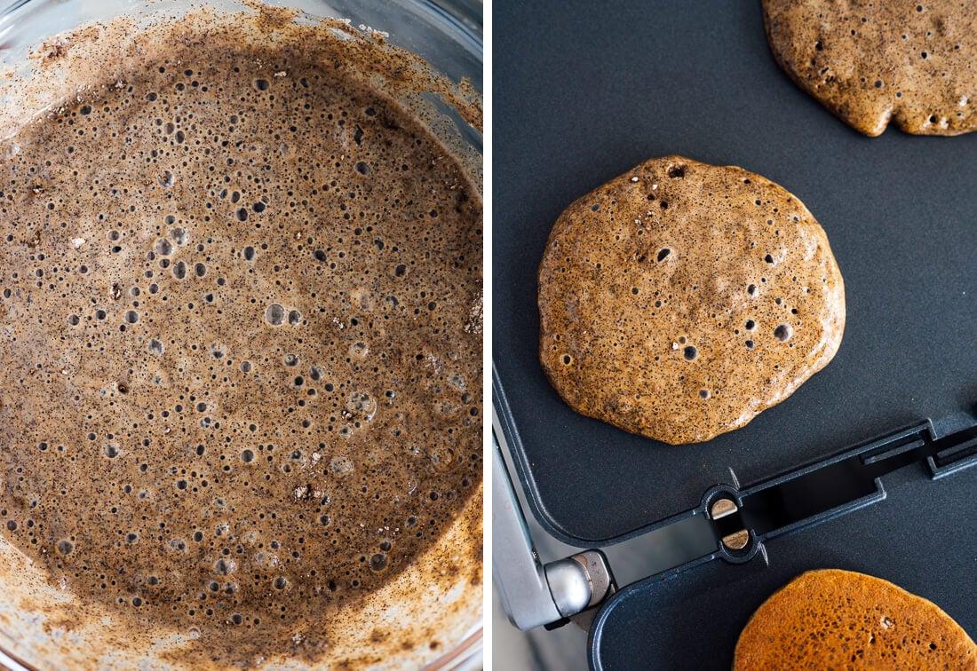 how to cook buckwheat pancakes