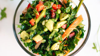 Asian Chopped Kale Salad Recipe