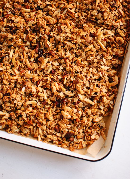 Honey Almond Granola - Cookie and Kate
