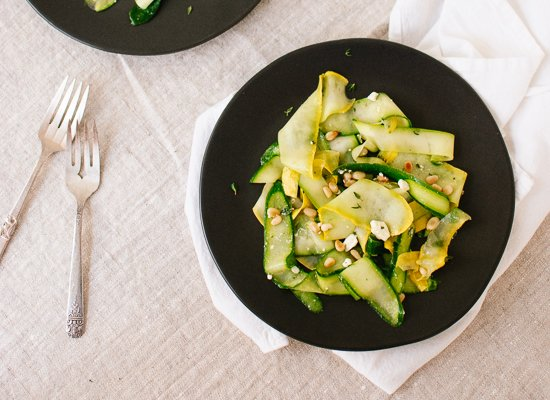 summer squash salad recipe