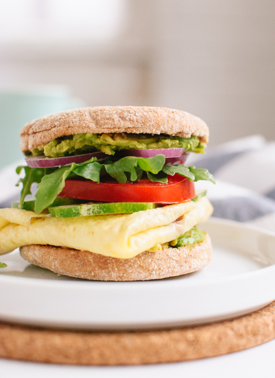 The Epic Egg and English Muffin Sandwich