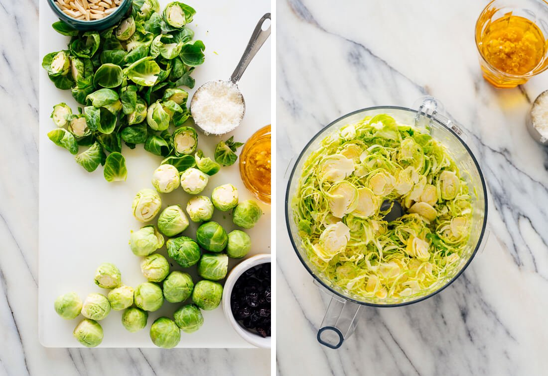 brussels sprout slaw ingredients