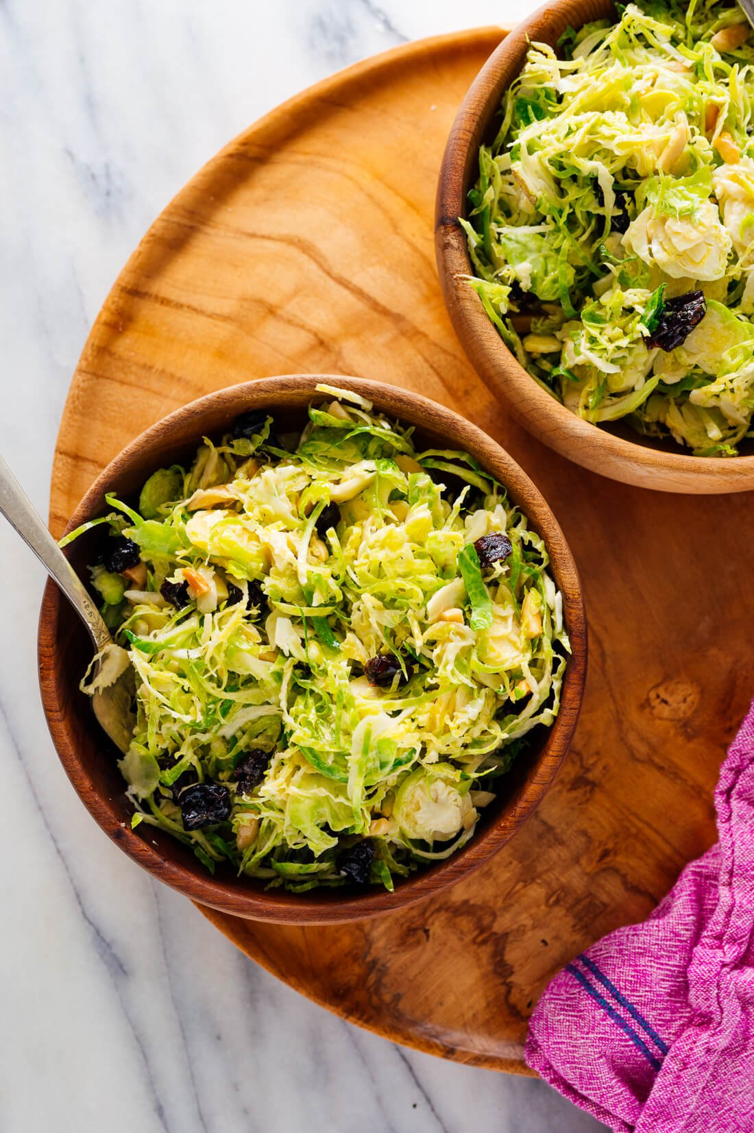brussels sprout slaw recipe