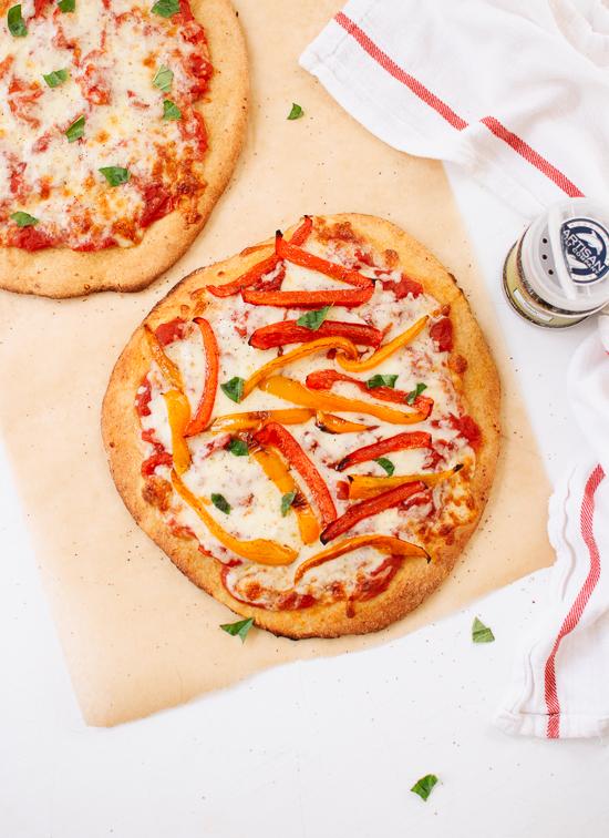 Easy whole wheat pizza dough recipe