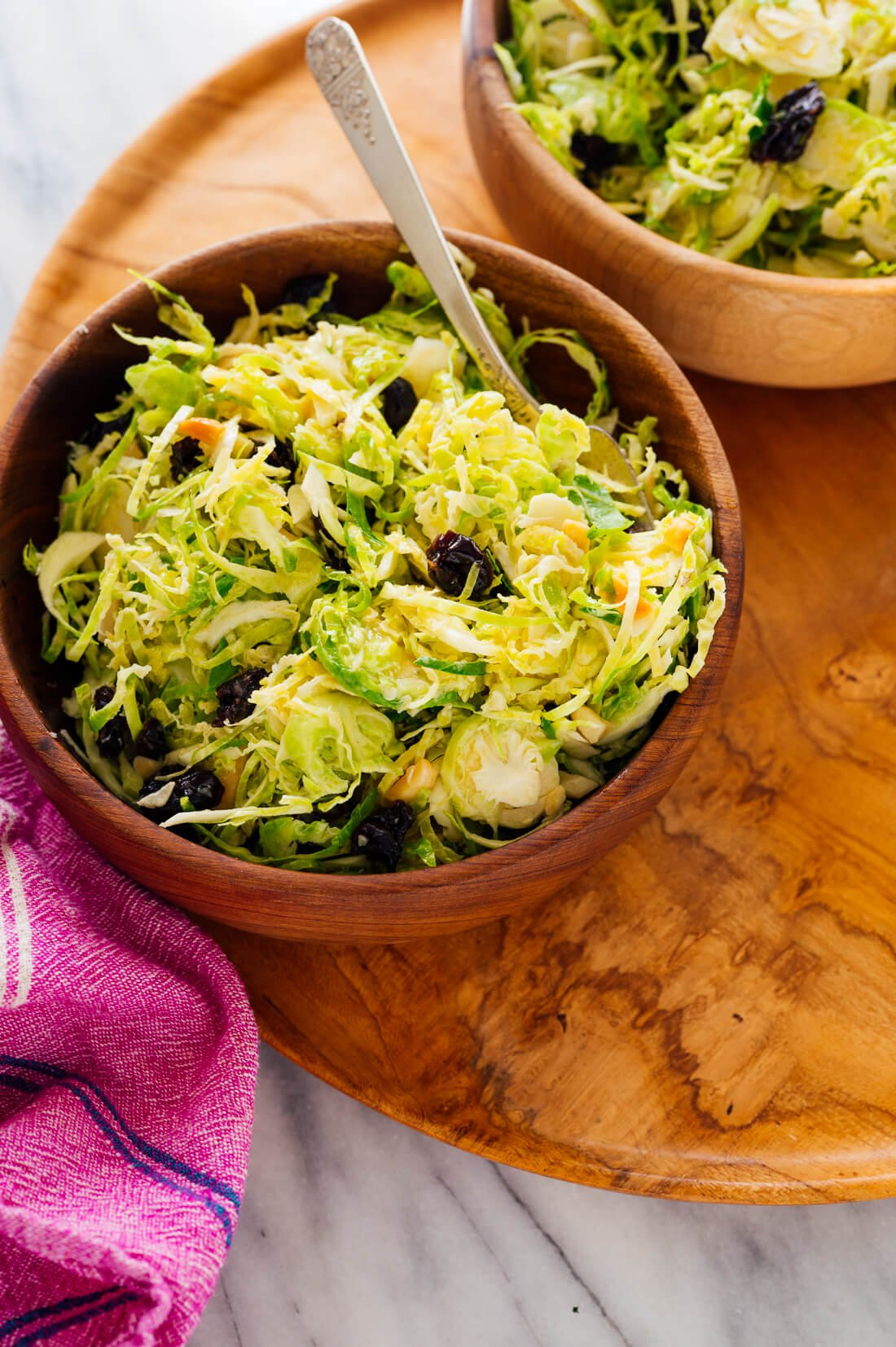 easy brussels sprout salad recipe