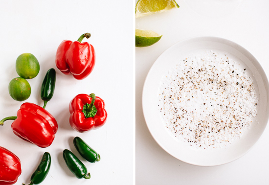 peppers and salt