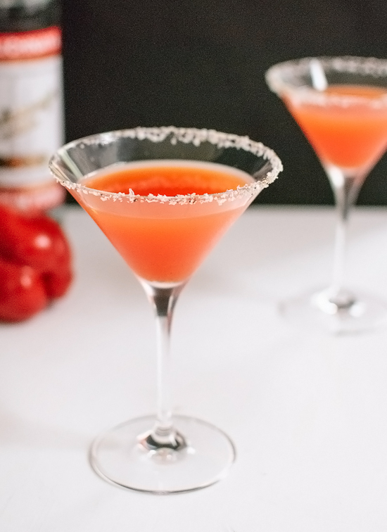 Red pepper martini