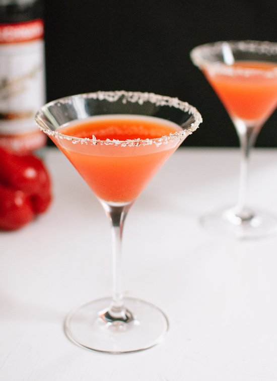 Red pepper martini