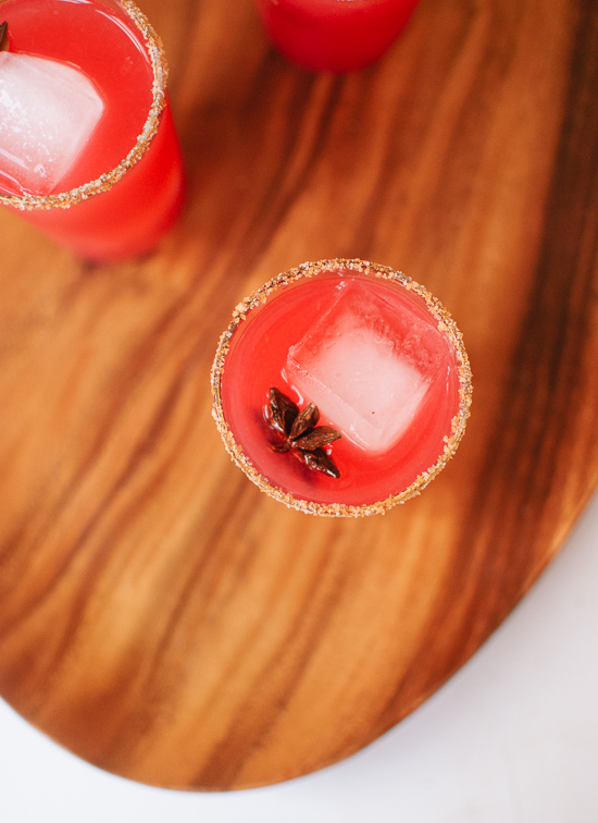 Cranberry margaritas recipe