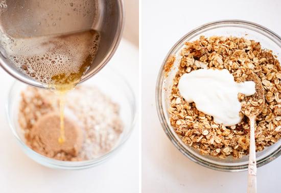 gluten-free crisp topping