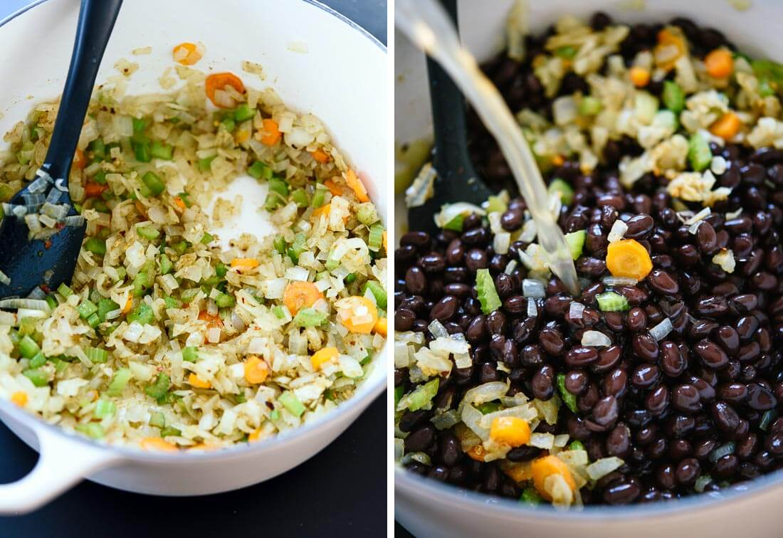 black bean soup ingredients