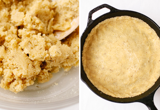 gluten-free almond meal crust
