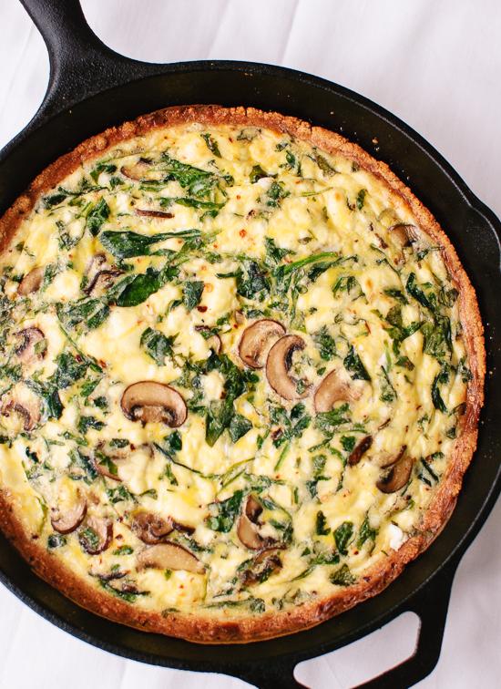 Gluten free quiche recipe - cookieandkate.com