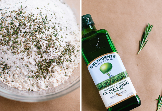 rosemary flour and olive oil