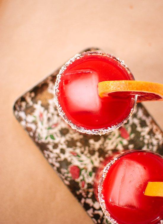 Blood Orange Margarita Recipe - cookieandkate.com