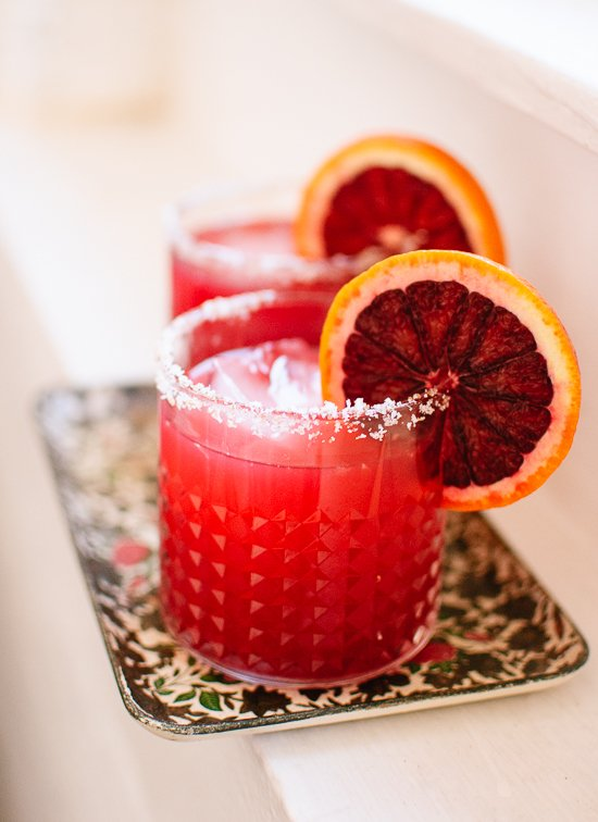 Blood Orange Margarita - cookieandkate.com