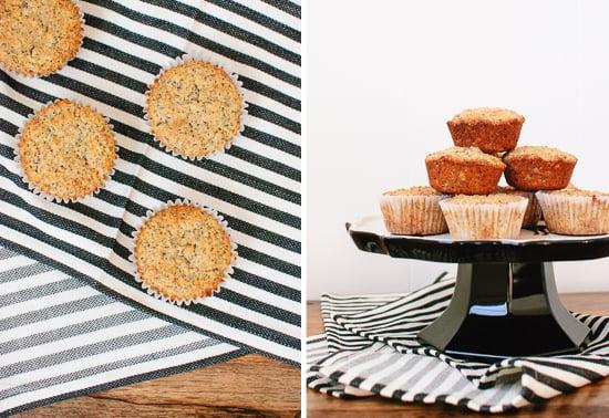 baked lemon poppy seed muffins