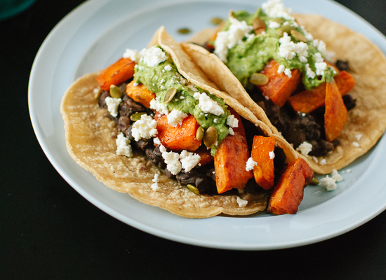 Sweet Potato and Black Bean Tacos - Cookie and Kate