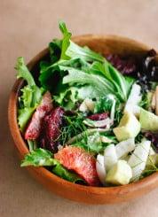Blood orange, fennel and avocado salad - cookieandkate.com