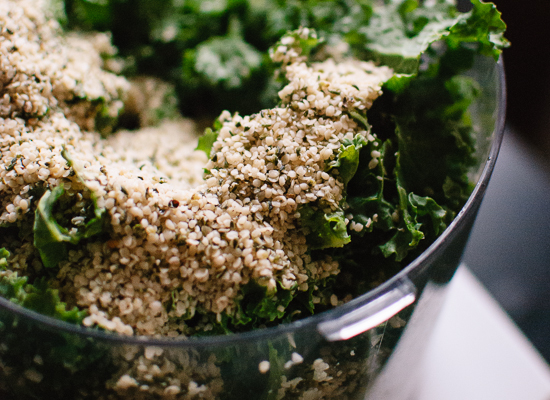 hemp seed pesto recipe