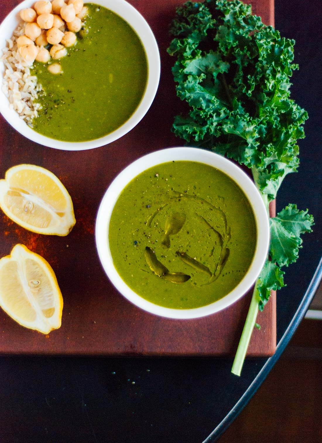 Redeeming green soup recipe