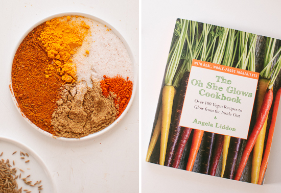 Spices and The Oh She Glows Cookbook