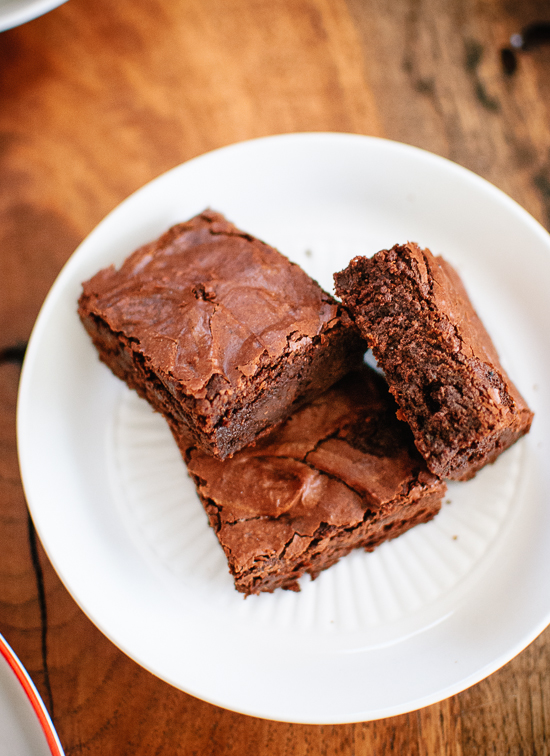 Seriously, these brownies are the best. - cookieandkate.com