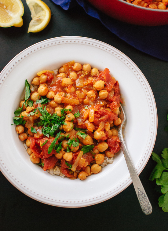 Vegan Chana Masala Recipe - cookieandkate.com