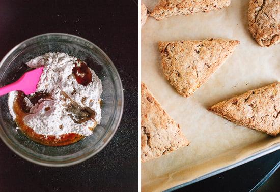glaze and scones