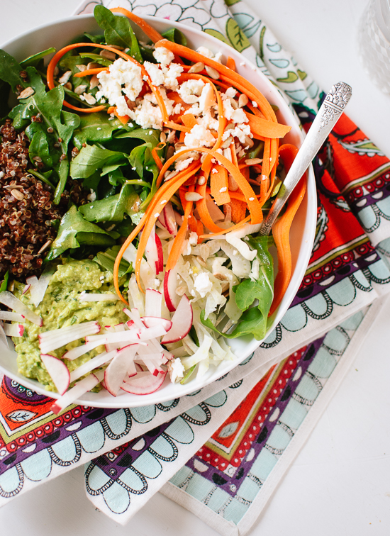 A healthy, fresh and filling salad - cookieandkate.com