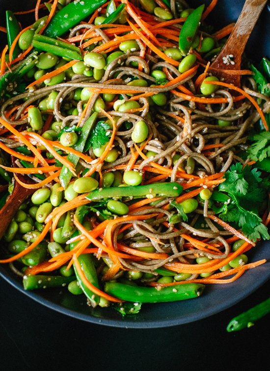 Stir-Fried Pork And Sugar Snaps With Soba Noodles Recipe ...