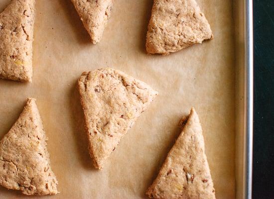 vegan banana nut scones (ready to bake)