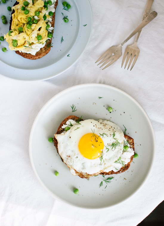 goat-cheese-and-egg-on-toast