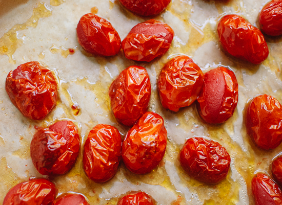 Roasted cherry tomatoes - cookieandkate.com