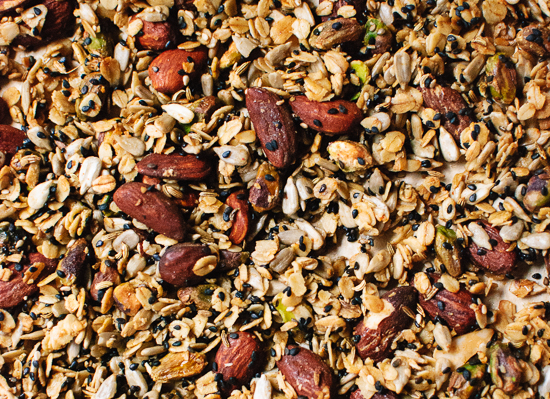 Savory granola croutons recipe - cookieandkate.com