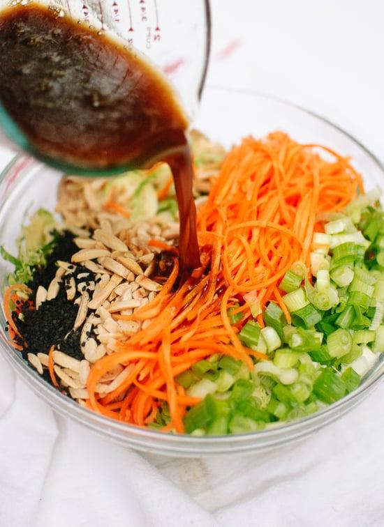 Asian style slaw recipe