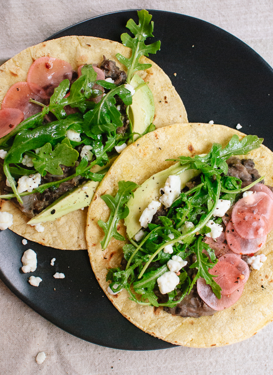 Fresh vegetarian tacos, ready in 30 minutes - cookieandkate.com