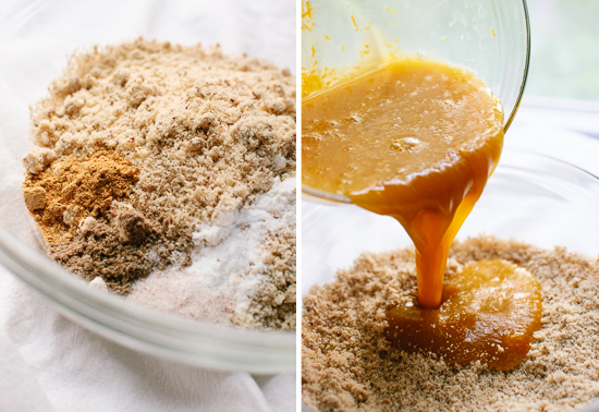 gluten-free almond cake preparation