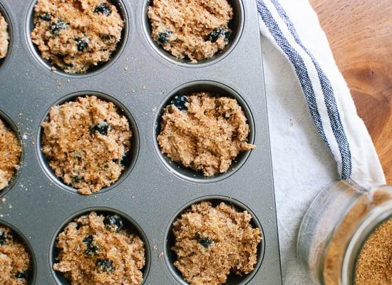healthy bran muffins batter