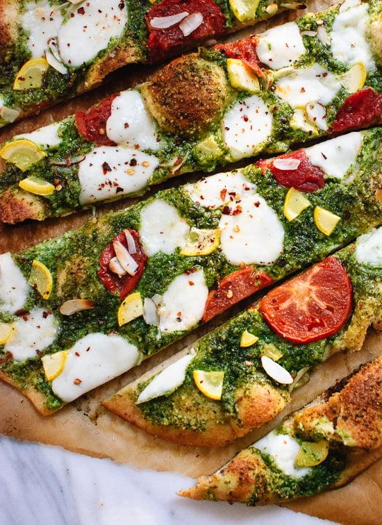 recipe: pesto pizza recipe [12]