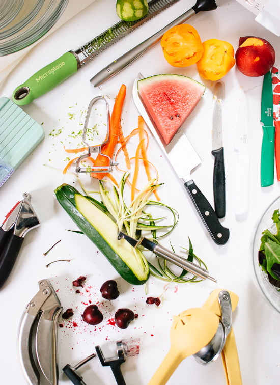 Essential fruit and vegetable tools - cookieandkate.com