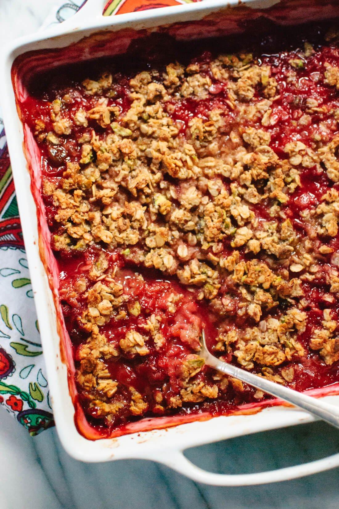 gluten-free plum crisp recipe