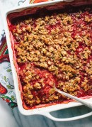A simple, honey-sweetened, plum dessert - cookieandkate.com