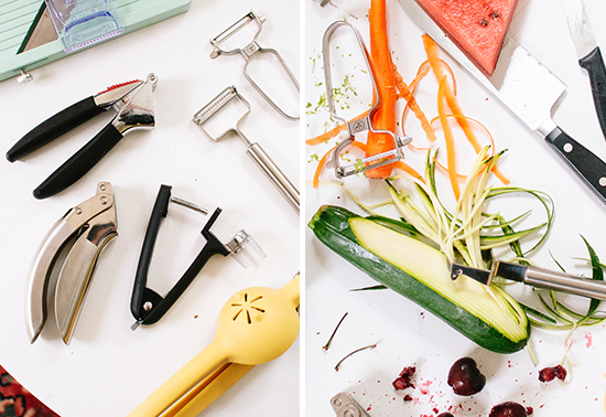 vegetable peelers and other fruit and vegetable tools