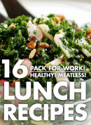16 healthy recipes that pack well for lunch! All vegetarian. cookieandkate.com