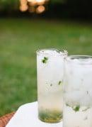 Lemon-basil mojito - cookieandkate.com