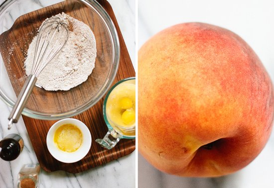 peach pancake ingredients