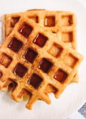 Easy gluten-free waffles recipe - cookieandkate.com